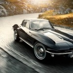 """Advantage""… Black Corvette Stingray"