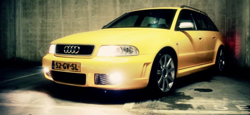 Audi RS4 the original