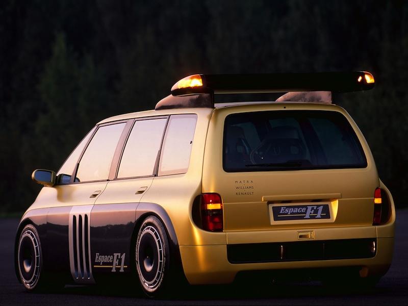 Renault Espace F1 - Familiale très spéciale ! 10