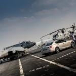 Des Maserati sur un porte-avions ! 2