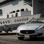 Des Maserati sur un porte-avions ! 1