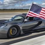 L'Hennessey Venom GT à plus de 435 km/h...