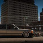 Slam'd Mercedes 190 W201 - En Airlift c'est mieux !