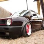 Golf II GTI… Air ride & BBS… Ca fait très mal !