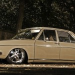 Audi 100 c1 LS… Duo parfait : Fuchs + Air ride
