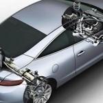 Les 4 roues directrices, au tour de Porsche…