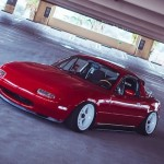 """Downtown Sweeper"" – Slammed Miata"