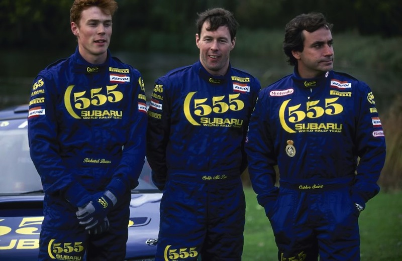 Colin McRae, 1968-2007. Richard Burns, Colin McRae and Carlos Sainz.