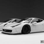 """Ferrari 458 """"Liberty Walk"""" - Violence oculaire 30"""