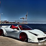 """Ferrari 458 """"Liberty Walk"""" - Violence oculaire 15"""
