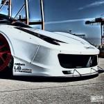 """Ferrari 458 """"Liberty Walk"""" - Violence oculaire 14"""
