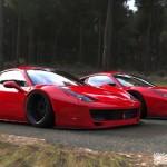 """Ferrari 458 """"Liberty Walk"""" - Violence oculaire 28"""