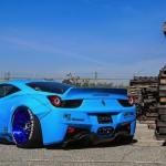 """Ferrari 458 """"Liberty Walk"""" - Violence oculaire 6"""