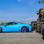 """Ferrari 458 """"Liberty Walk"""" - Violence oculaire 4"""