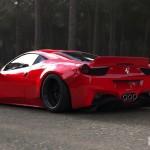 """Ferrari 458 """"Liberty Walk"""" - Violence oculaire 26"""