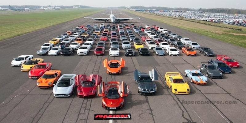 La photo à 40.000 ch… Ou plus ! Supercar Meet…