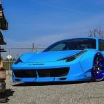 """Ferrari 458 """"Liberty Walk"""" – Violence oculaire"""