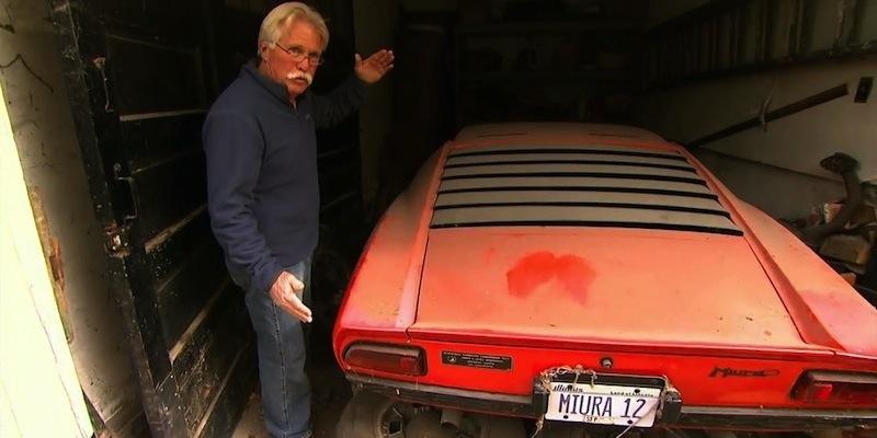 """Chasing Classic Cars"" – Lamborghini Miura"