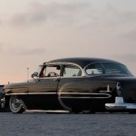 """Josephine"" – Chevy Bel Air '53 – Chrome & Air-ride !"