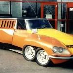 La DS 1000 Pattes … La voiture de fonction de Bibendum !
