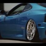 Ferrari 360 Modena… Air-ride & V.I.P… Ca tue !