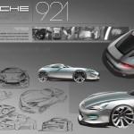 Porsche 921 Vision Concept : La 928 revisitée !