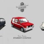 Starsky & Hutch en Fiat Panda… Batman en 2CV… Mais c'est quoi ce bordel ?!