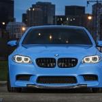 BMW M5 F10 iND Distribution en Yas Marina Blue ! 2
