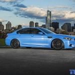 BMW M5 F10 iND Distribution en Yas Marina Blue ! 8