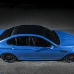 BMW M5 F10 iND Distribution en Yas Marina Blue ! 9
