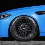 BMW M5 F10 iND Distribution en Yas Marina Blue ! 11