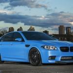 BMW M5 F10 iND Distribution en Yas Marina Blue ! 3