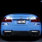 BMW M5 F10 iND Distribution en Yas Marina Blue ! 5