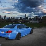 BMW M5 F10 iND Distribution en Yas Marina Blue ! 7