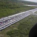 Les cimetières de voitures … neuves ! Hallucinant O_o 5