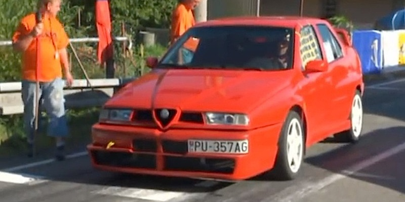 Alfa Romeo 155 Q4 Turbo… Wrooaap Tscchiiiii… Violente !