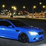 BMW M5 F10 iND Distribution en Yas Marina Blue !