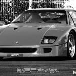 1987 Ferrari F40 … Rare, le film de promo officiel !