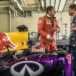 Redbull RB8 vs Ferrari F1 87-88C … Vettel & Berger ! 3