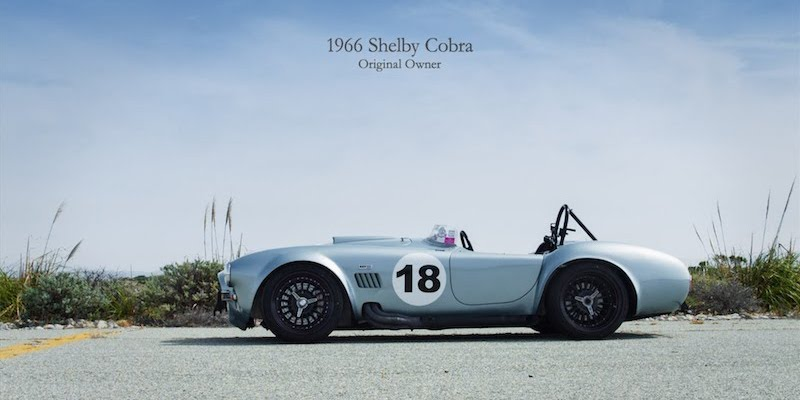 1966 Shelby Cobra 427 – Attention aux traces de pneus …