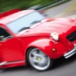 Ferrari 2 CV fourgonnette V8… O_o