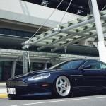Aston DB9 Airride... Un V12 sur coussins d'air !