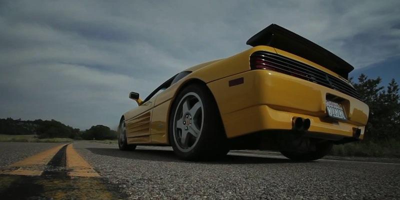 Ferrari 348 Challenge… Twin Turbo !