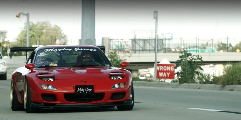 """Mayday Garage"" – Et si on parlait Mazda RX7 ?!"