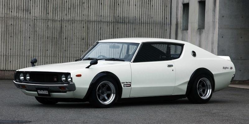 JDM Legends : '75 Nissan Skyline 2000 GT