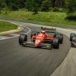 Redbull RB8 vs Ferrari F1 87-88C … Vettel & Berger !