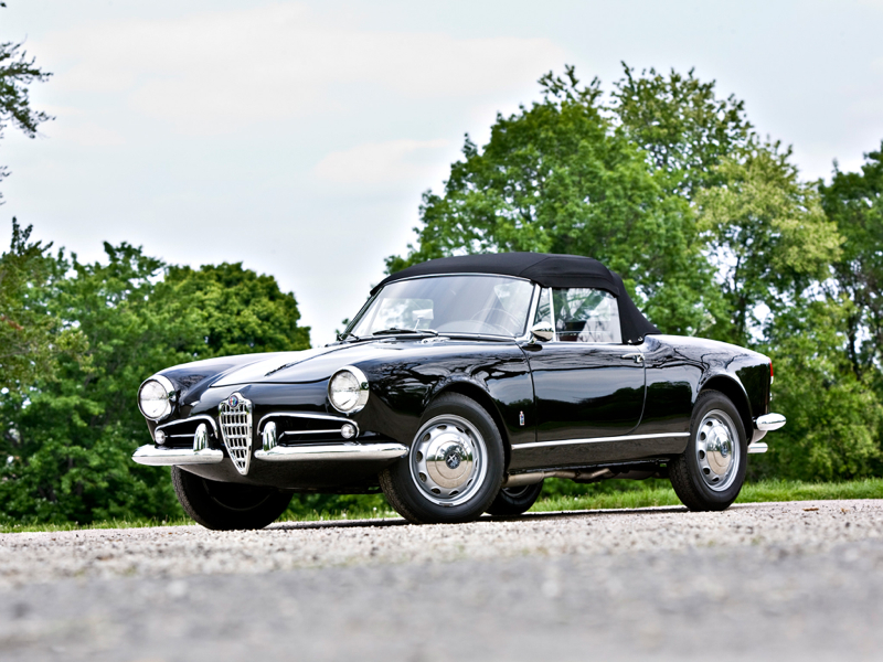 alfa giulia spider la dolce vita dledmv. Black Bedroom Furniture Sets. Home Design Ideas