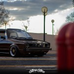 """Hot Chocolate Golf MK1"" - Stance & Vintage made in South Africa ! 14"