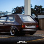 """Hot Chocolate Golf MK1"" - Stance & Vintage made in South Africa ! 2"