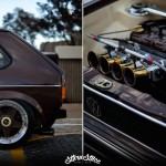 """Hot Chocolate Golf MK1"" - Stance & Vintage made in South Africa ! 1"